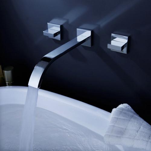 robinetterie murale : salle de bain : robinetterie mitigeur ... - Robinetterie Murale Salle De Bain