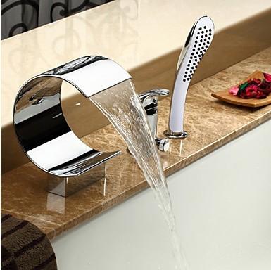 Parfait De Vente En Ligne De Baignoire Robinet De Haute Qualité - Robinet de baignoire avec douchette