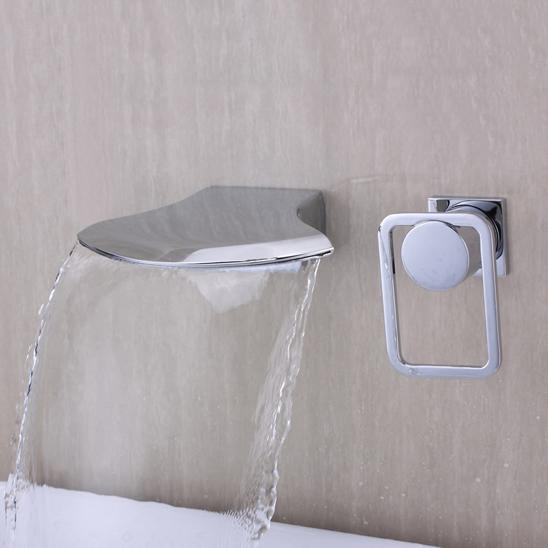 Robinetterie murale salle de bain robinetterie for Robinetterie salle de bain cascade